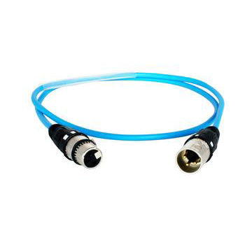 Digiflex CXX-AES-25 - 25 Foot Blue AES/EBU Cable with Digital XLR Connectors