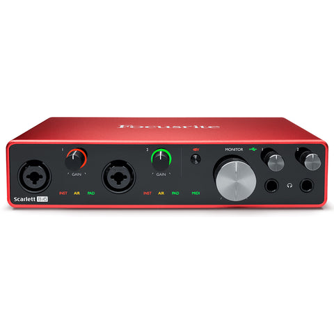 Focusrite Scarlett 8i6 MK3 - Audio Interface
