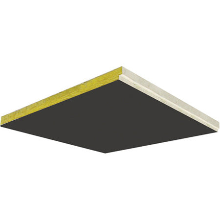 Primacoustic StratoTile - BK* Glass wool ceiling tiles, 24''x48'', square edge (Black)