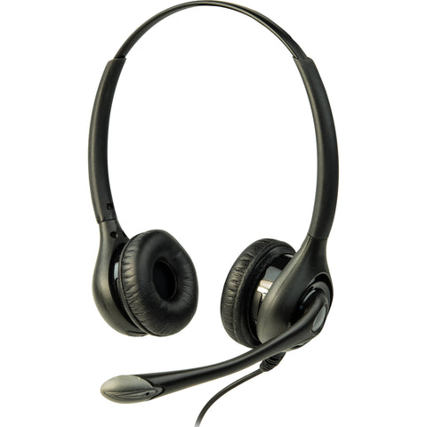 Listen Technologies LA-453 - ListenTALK Headset 3 (Over Head Dual w/Boom Mic)