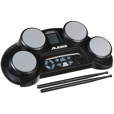 Alesis CompactKit 4 - Portable Tabletop Pad Drum Kit