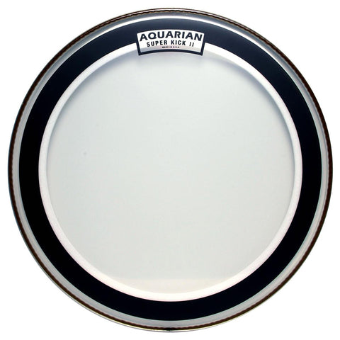 Aquarian SKII20 - 20''CLEAR DOUBLE PLY SUPER KICKDRUMHEAD