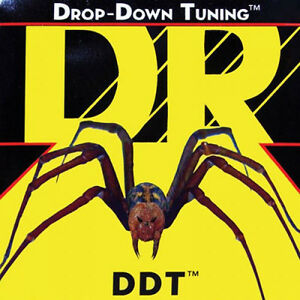 DR Strings DDT7-11 (7 String Extra Heavy) - DDT: Drop Down Tuning:  11, 15, 19, 32, 42, 54, 65