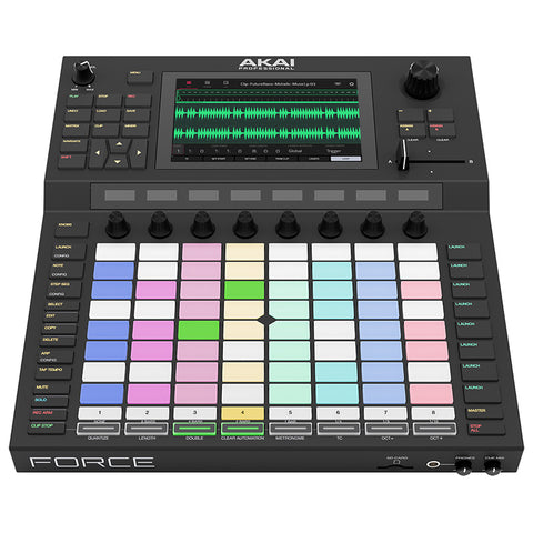 Akai Force Standalone Music Production and DJ System
