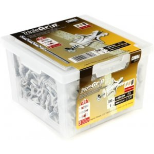 Primacoustic Cobra kit 200 Triple grip wall anchors, contractor pack