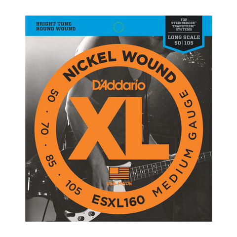 D'Addario ESXL160 - SET BASS XL 50-105 DBL BALL