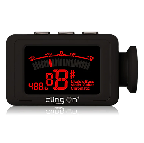 Cling On MS1R - Magnetic Guitar Tuner (Red)