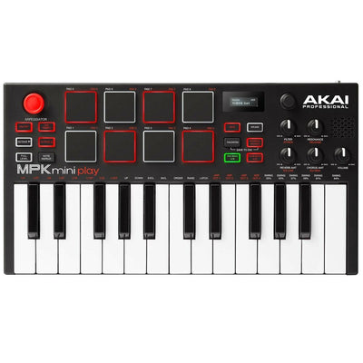 Akai MPK Mini Play USB Keyboard Controller w/ Speakers