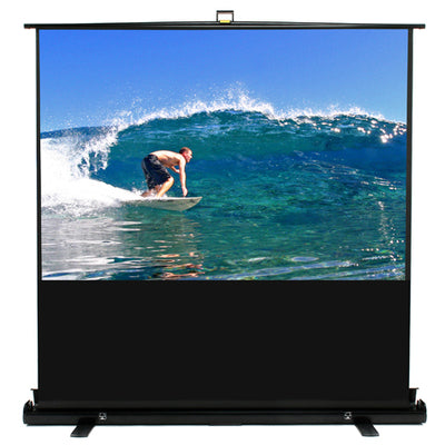 "Stage & Studio Pull-Up Video Projection Screen - 80"" 16x9"