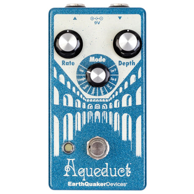 Earthquaker Aqueduct Vintage-Inspired Pitch Vibrato Pedal