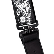 Planet Waves Joe Satriani Polyester Swivel Guitar Strap - Black Pattern