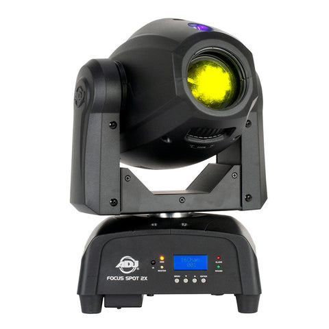 ADJ Focus Spot 2X - 100W LED Moving Head with 3W UV LED