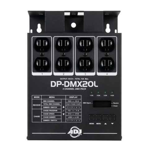 ADJ DP-DMX20L DMX Lighting Dimmer Pack