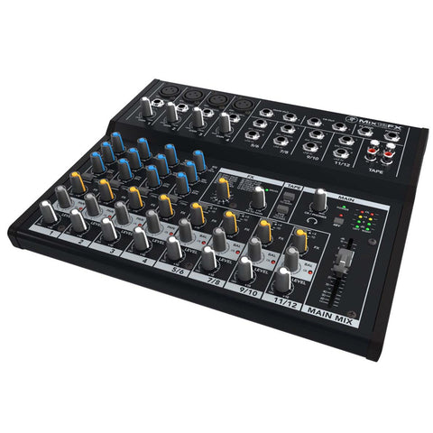 Mackie Mix12FX Compact 12-Channel Mixer w/ Effects
