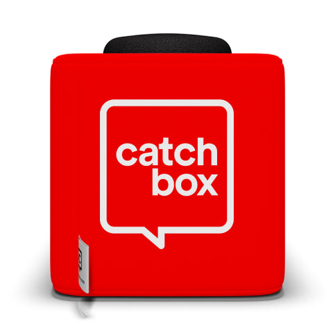 Catchbox Plus Throwable Microphone System - Red