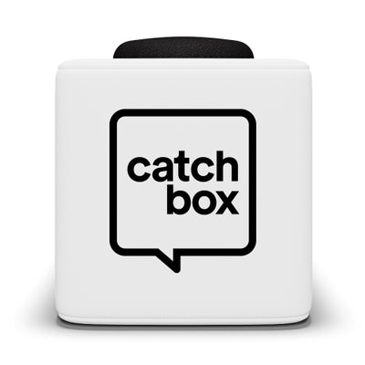Catchbox Plus Throwable Microphone System - White