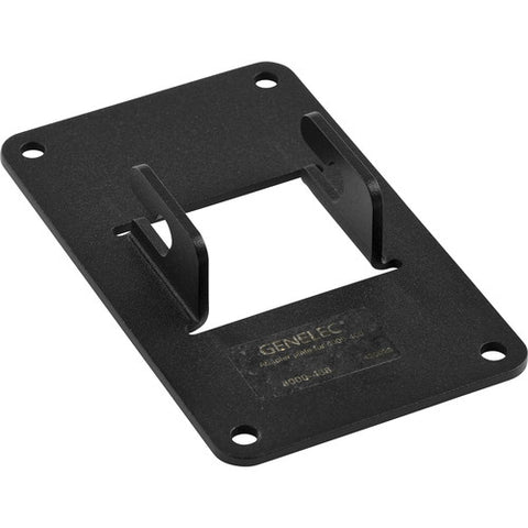 Genelec 8000-438 - Horizontal Mounting Plate For 8000-400 Design Floor Stand. Black Finish.
