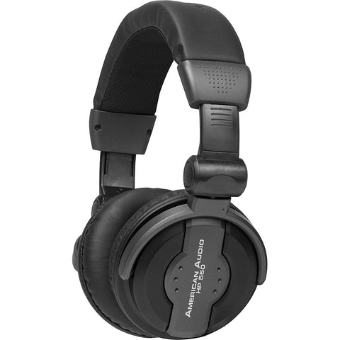 American Audio HP-550-Black - DJ Headphones