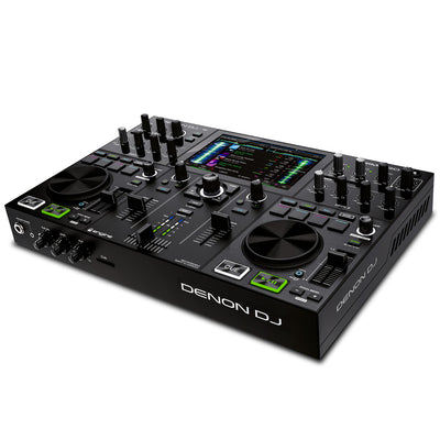 Denon PRIME GO Rechargeable Smart DJ 2-Deck Console w/ 7'' Touchscreen