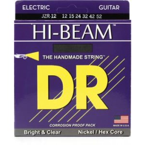 DR Strings JZR-12 (Extra Heavy) - HI-BEAM Nickel Plated Electric: 12, 15, 24, 32, 42, 52