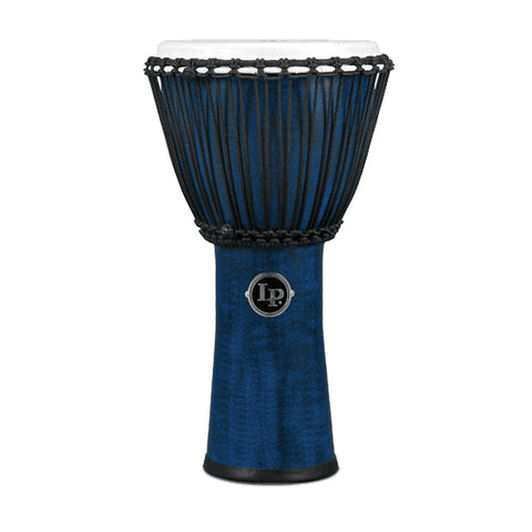 LP LP724B - Rope Djembe 11In Syn Shell, Syn Head,Blu
