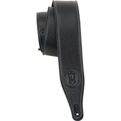 Levy's M17SS-BLK Garment Leather Guitar Straps