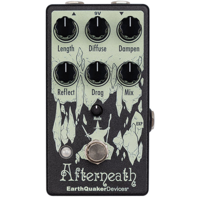 Earthquaker Afterneath V3 Enhanced Otherworldly Reverb Pedal