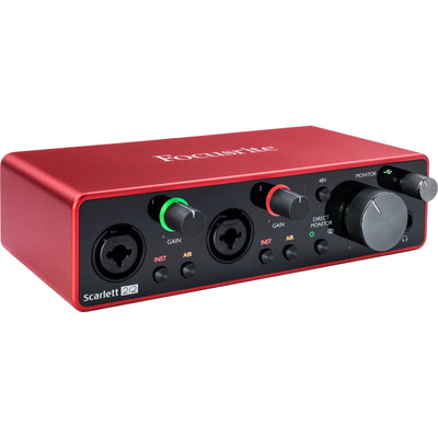 Focusrite Scarlett 2i2 MK3 2-Channel Audio Recording Interface