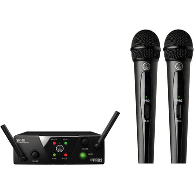 AKG WMS 40 Mini 2 Vocal Wireless Microphone Set (Freq. 25 A/C)