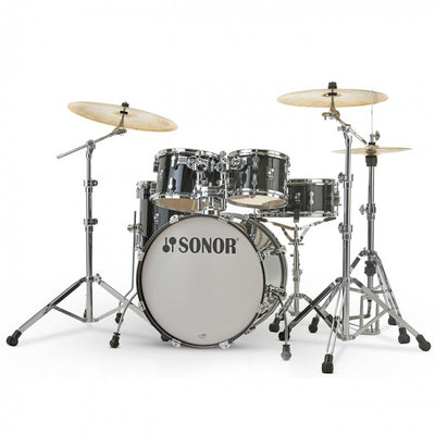 Sonor AQ2 Stage Set Drum Kit (Transparent Stain Black)