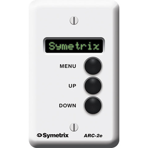 Symetrix ARC-2e Wall Remote Controller