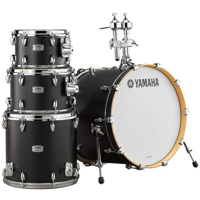 "Yamaha Tour Custom Maple 4-Piece Shell Pack 20"" Bass Drum (No Snare) - Licorice Satin"