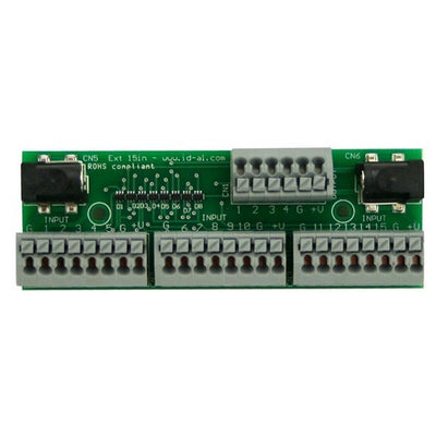 ID-AL Ext15in - EventPlayer Extension Board