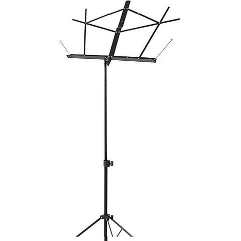 On-Stage-Stands SM7122B - Compact Sheet Music Stand  (Black)