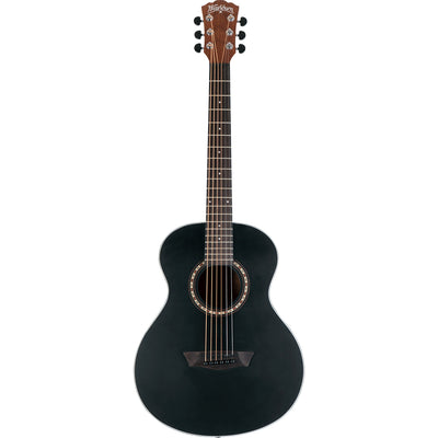 Washburn Apprentice G-Mini 5 Acoustic Guitar (Black Matte)