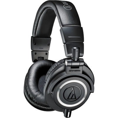 Audio-Technica ATH-M50x Headphones - Black