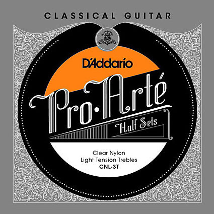 D'Addario CNL-3T - 1/2 SET CLAS GTR CLR NYL LIGHT