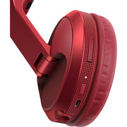 Pioneer HDJ-X5BT Over-Ear DJ Headphones w/ Bluetooth - Red
