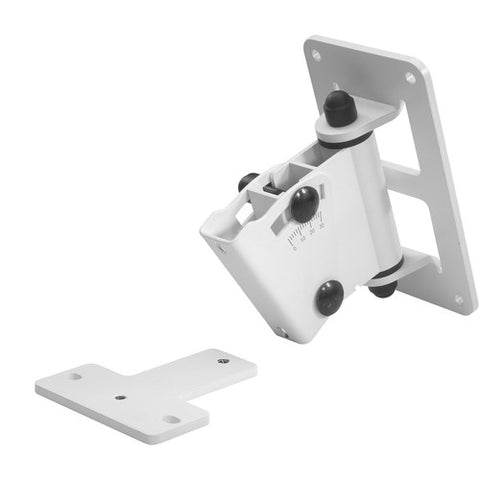 Genelec 8000-402W - 8000-402W Adjustable Wall Mount for 8000-Series (White)