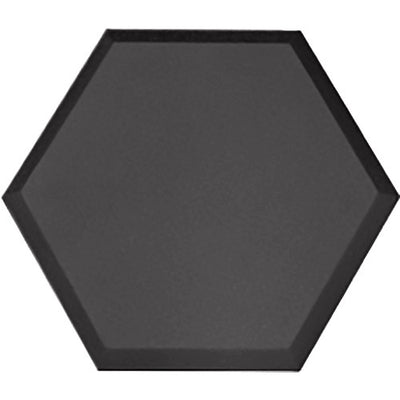 Primacoustic Element Accent, Hexagon, 14''x16''x1.5'', beveled edge (Black)
