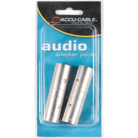 Accu-Cable Audio Adapter XLR-Male to XLR-Male