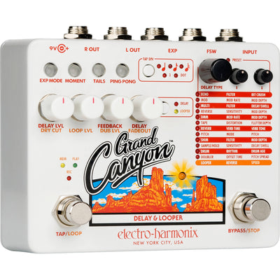Electro-Harmonix GRAND CANYON Delay and Looper Pedal