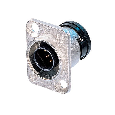 Neutrik ORP8M-NI - Nickel Male Panel Connector