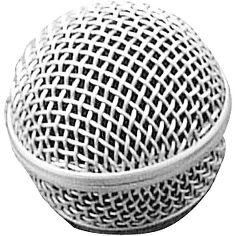 On-Stage-Stands SP-58 - Replacement Steel Mesh Grille for Round Capsule Handheld Microphones (Matte Grey)