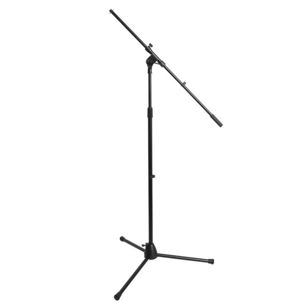 On-Stage Stands MS7701B Euro-Boom Microphone Stand - Black