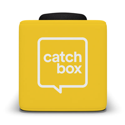 Catchbox Plus Throwable Microphone System - Yellow