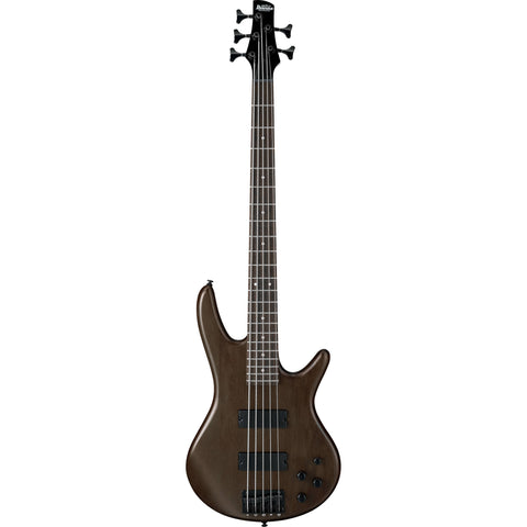 Ibanez GSR205B-WNF - Gio 5 String Electric Bass, Oukume Body-Walnut Flat