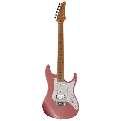 Ibanez AZ2204-HRM - Prestige Roasted Maple Neck - Hazy Rose Metallic