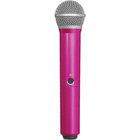 Shure WA712 Color Handle for BLX2 Microphone Transmitter PG58 Capsule Pink