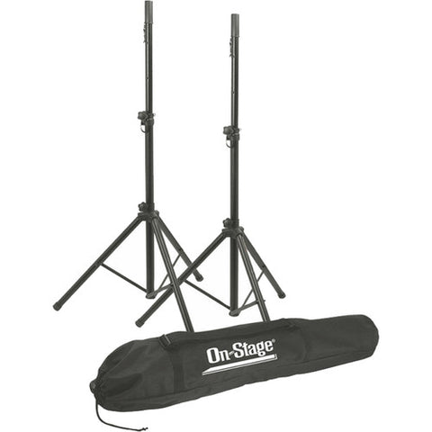 On-Stage-Stands SSP7900 - All-Aluminum Speaker Stand Pak